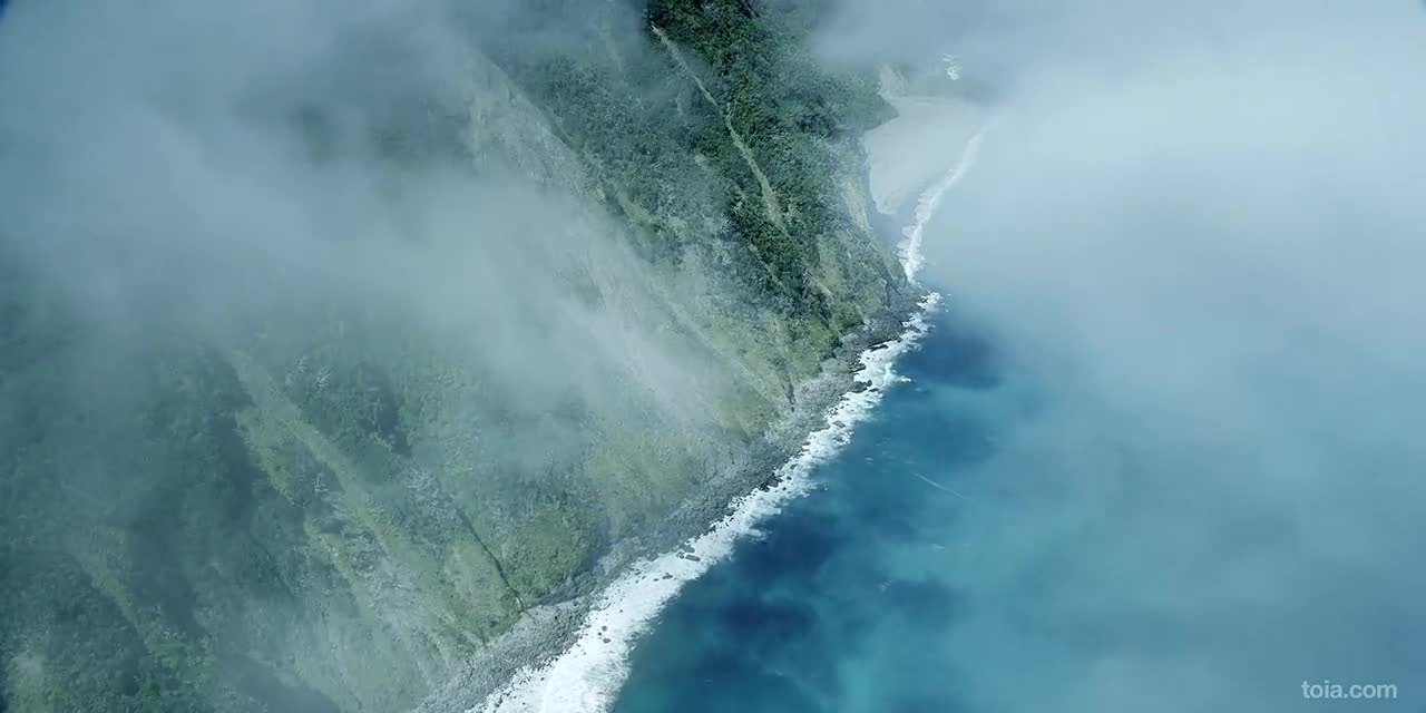 Flying Over New Zealand