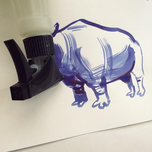 Rhino - Abstract Sunday - Christoph Niemann