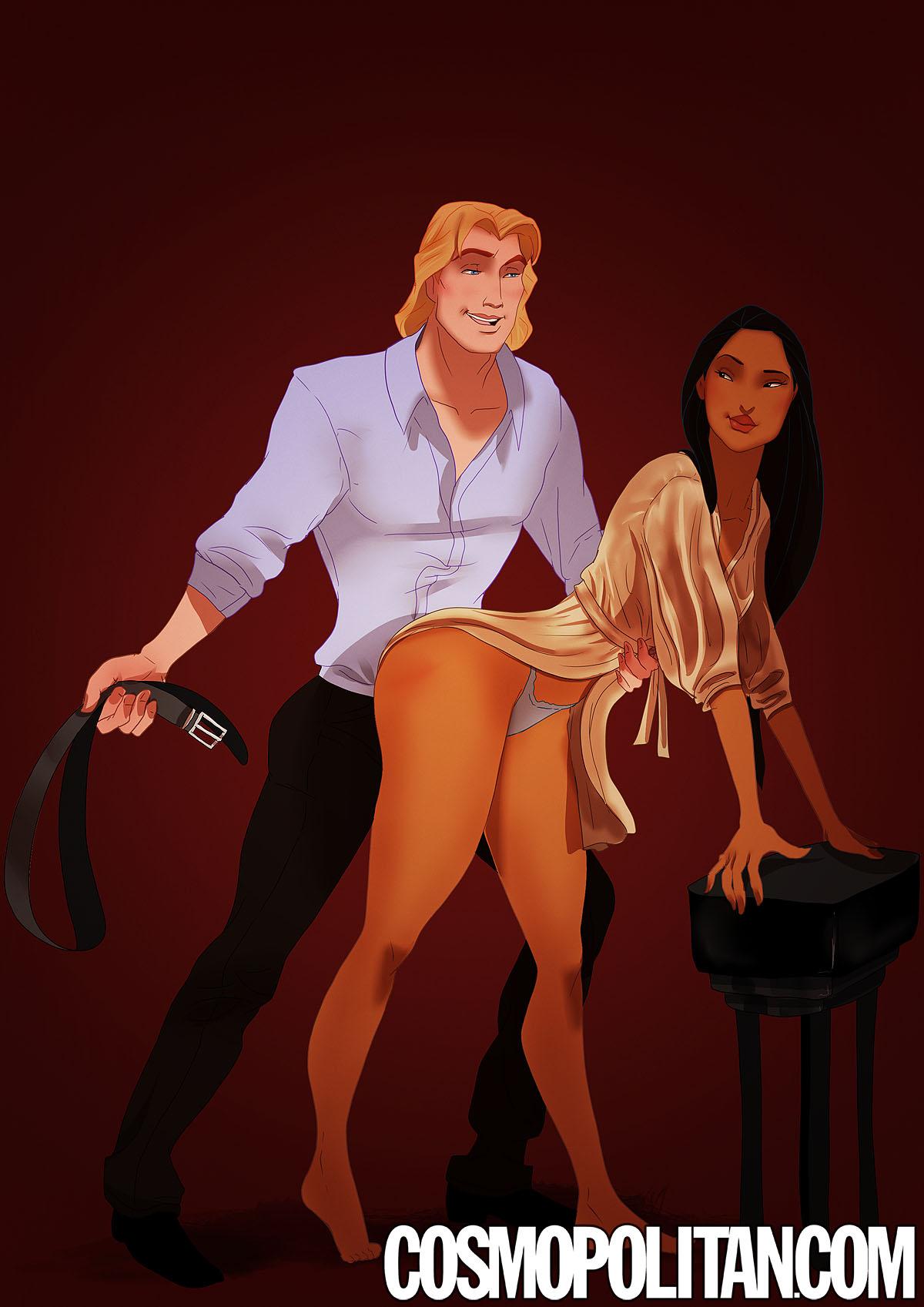 Pocahontas & John Smith, Pocahontas