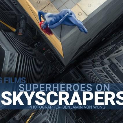 Superheroes on Skyscrapers – Benjamin Von Wong