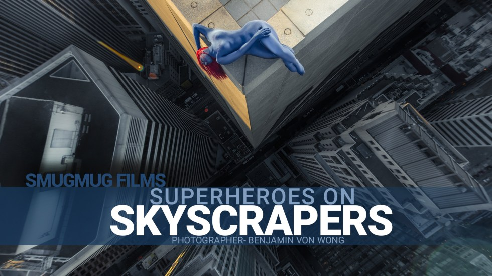 Superheroes Skyscrapers Von Wong 263520340