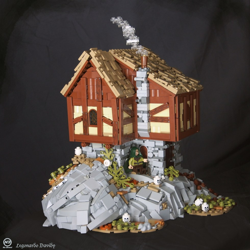 Druid's cottage - LEGO - David Hensel