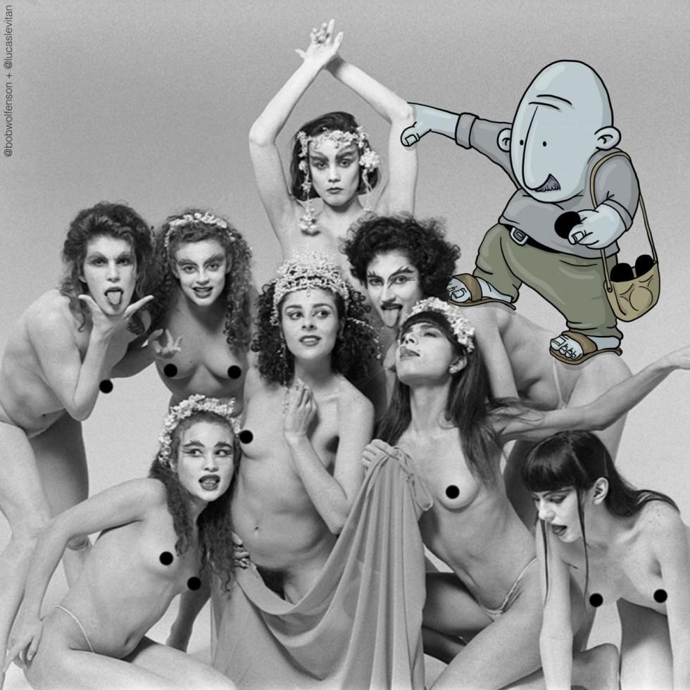 The Censor - Photos Invasion ©Lucas Levitan