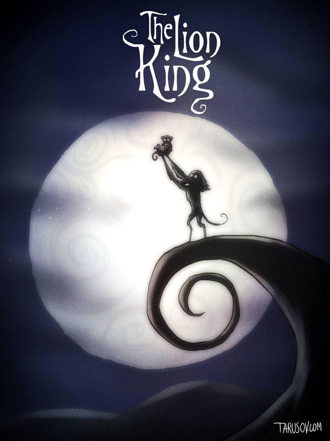 Andrew Tarusov Disney Tim Burton 42387615