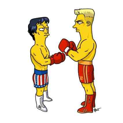 Rocky Balboa & Ivan Drago