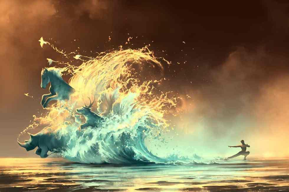 Mana tide - Cyril Rolando
