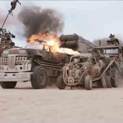Les rushs de Mad Max : Fury Road sont encore plus spectaculaires sans effets spéciaux