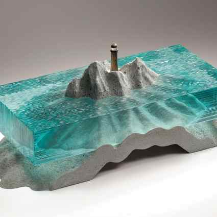 Sculptures de verre / Ben Young
