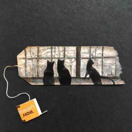 Tea bags / Ruby Silvious