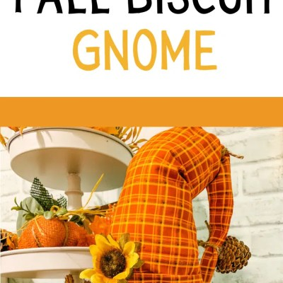 Diy Fall Decor Biscuit Gnome