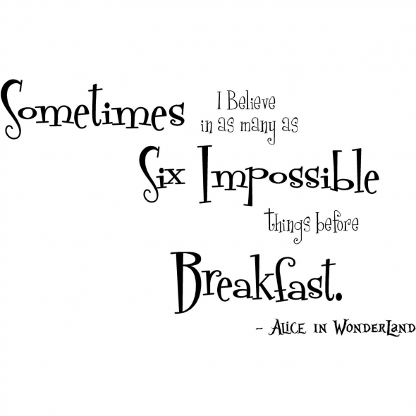 All Things Are Possible (1/2)