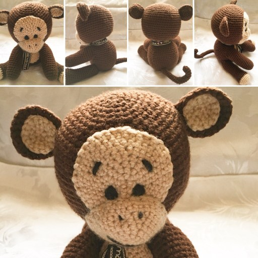 Cheeky Monkey Crochet Pattern