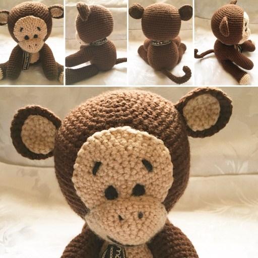 Cheeky Monkey Crochet Pattern