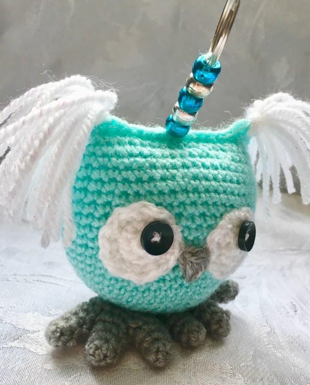 Crochet Owl - Side