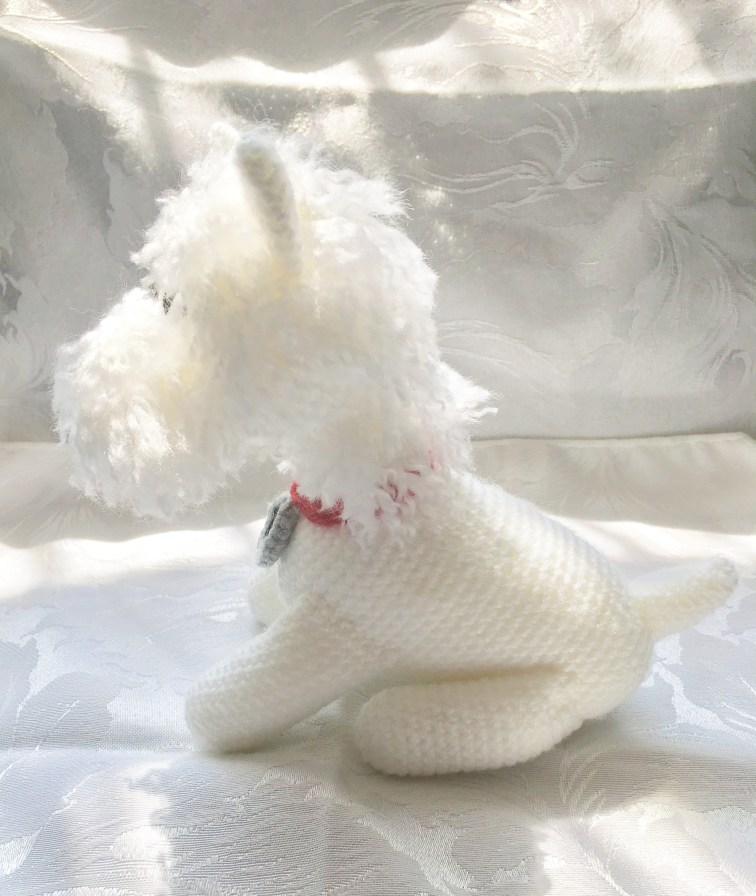 scamp the westie crochet