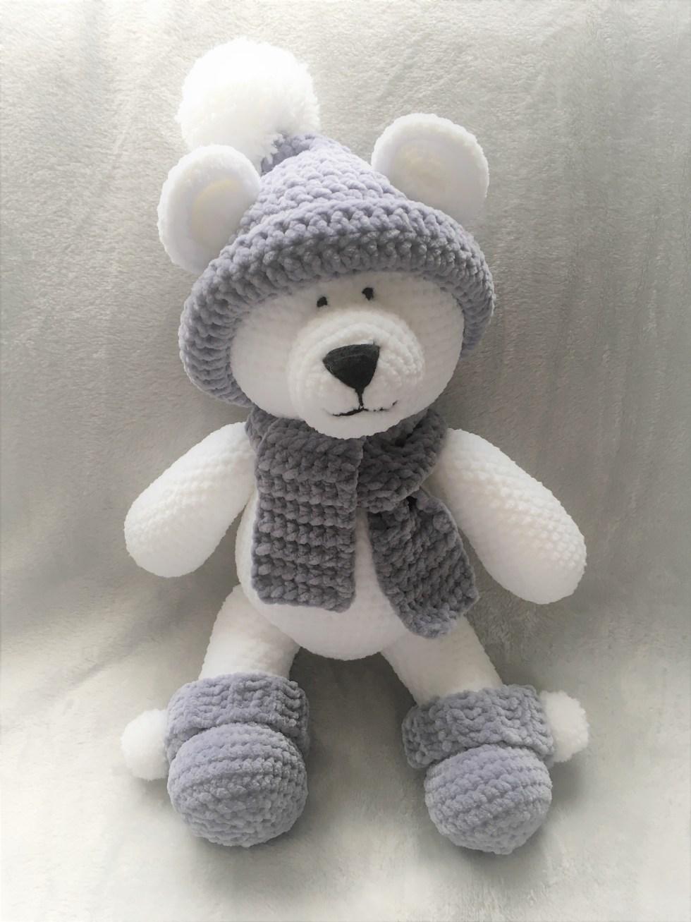Crochet Winter Bear