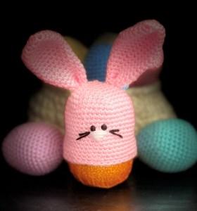 Crochet Chocolate Orange Bunny
