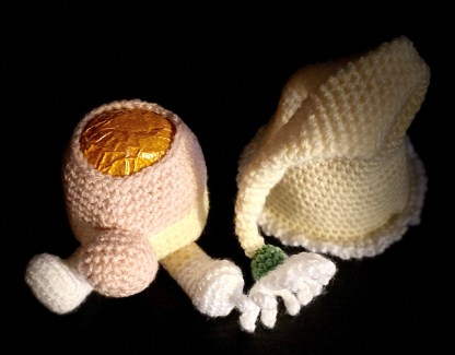 Daisy Gnome Chocolate Orange - Crochet Pattern