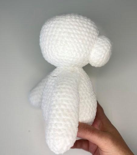 Crochet Polar Bear Pattern - Right Arm