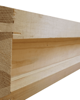 Wooden Super for a British National Bee Hive