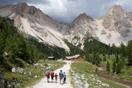 Wandelen met de familie in de Italiaanse Dolomieten