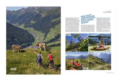Reportage over E-mountainbiken in het Zillertal