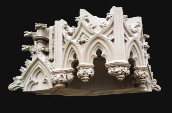 Dach für die Kathedrale St. John in 's-Hertogenbosch in Udelfanger Sandstein