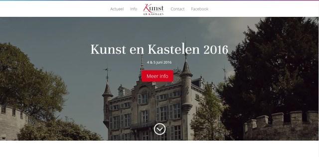 website Kunst en Kastelen
