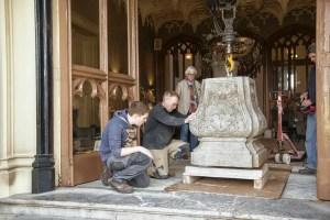 new bottom part for Pedestal of Hercules Schaffelaar