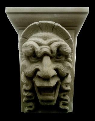 Kopieren grotesk in Udelfanger Sandstein, Amsterdam