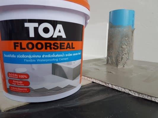 TOA floor seal