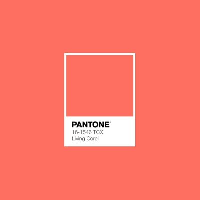 Pantone ประกาศสีประจำปี 2019 คือ Living Coral สีแห่งประการังมีชีวิต 2