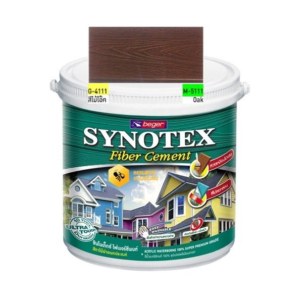 Synotex Fiber Cement Oak beger