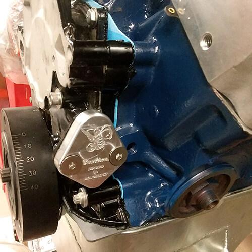 Fuel Pump Block Off Plates