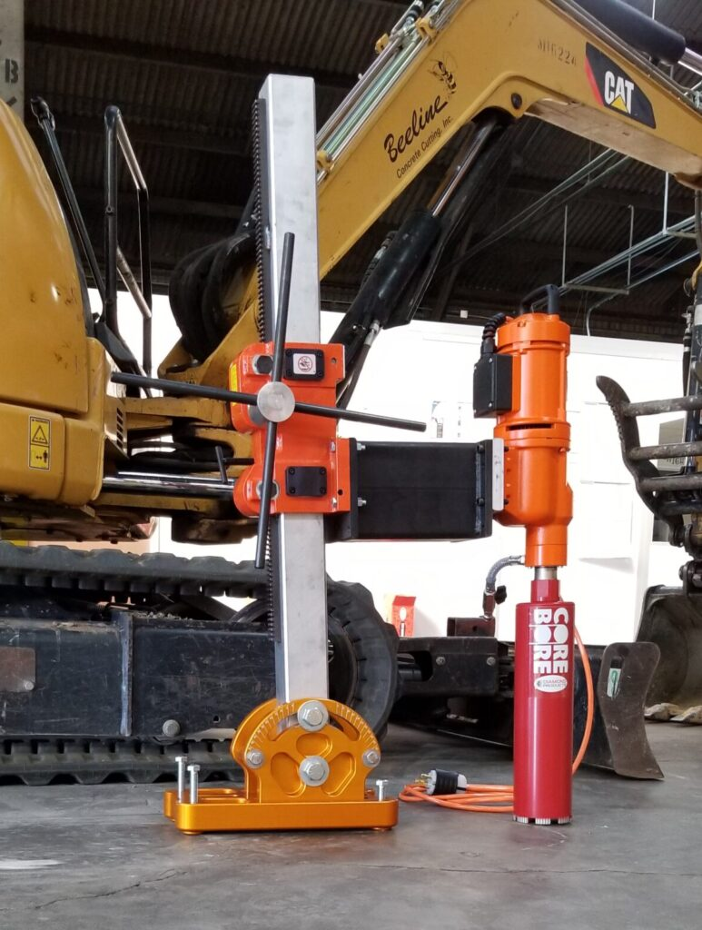 Angle Stand for Concrete Core Drilling