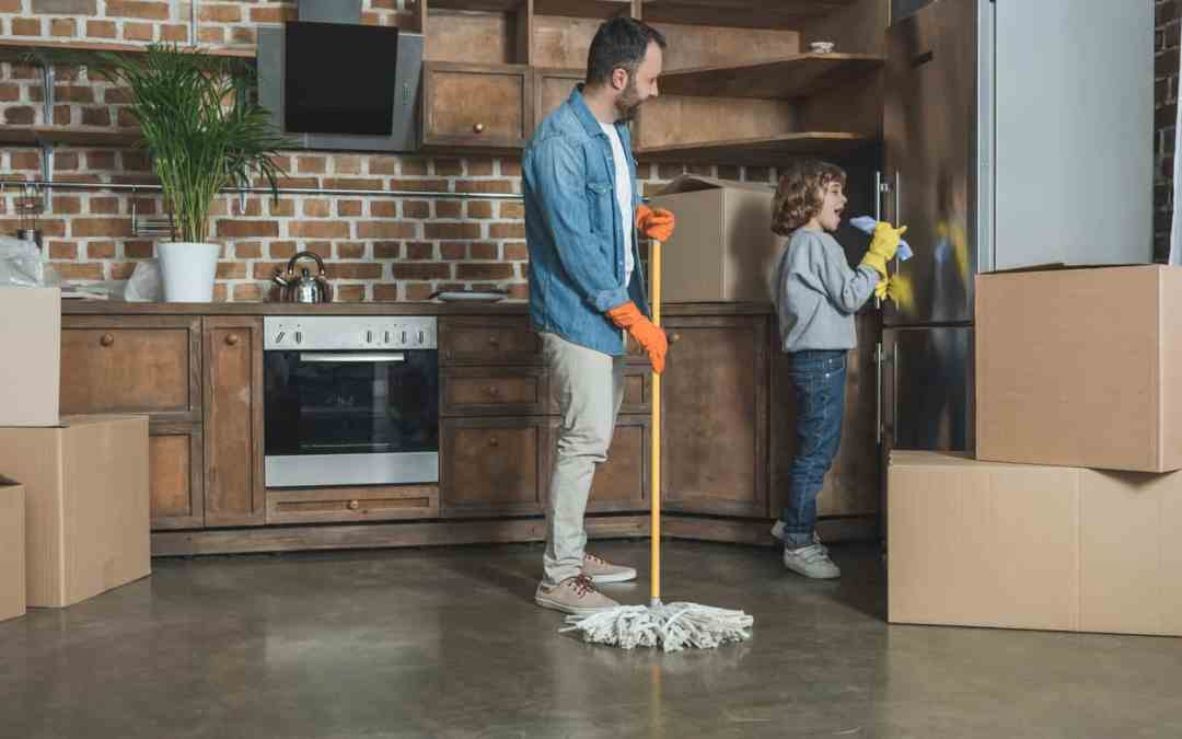 Here's your Move Out Cleaning Checklist