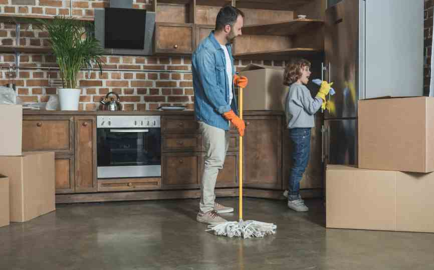 Here's your Move Out Cleaning Checklist | Bee Maids