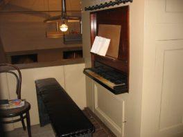 het orgelklavier