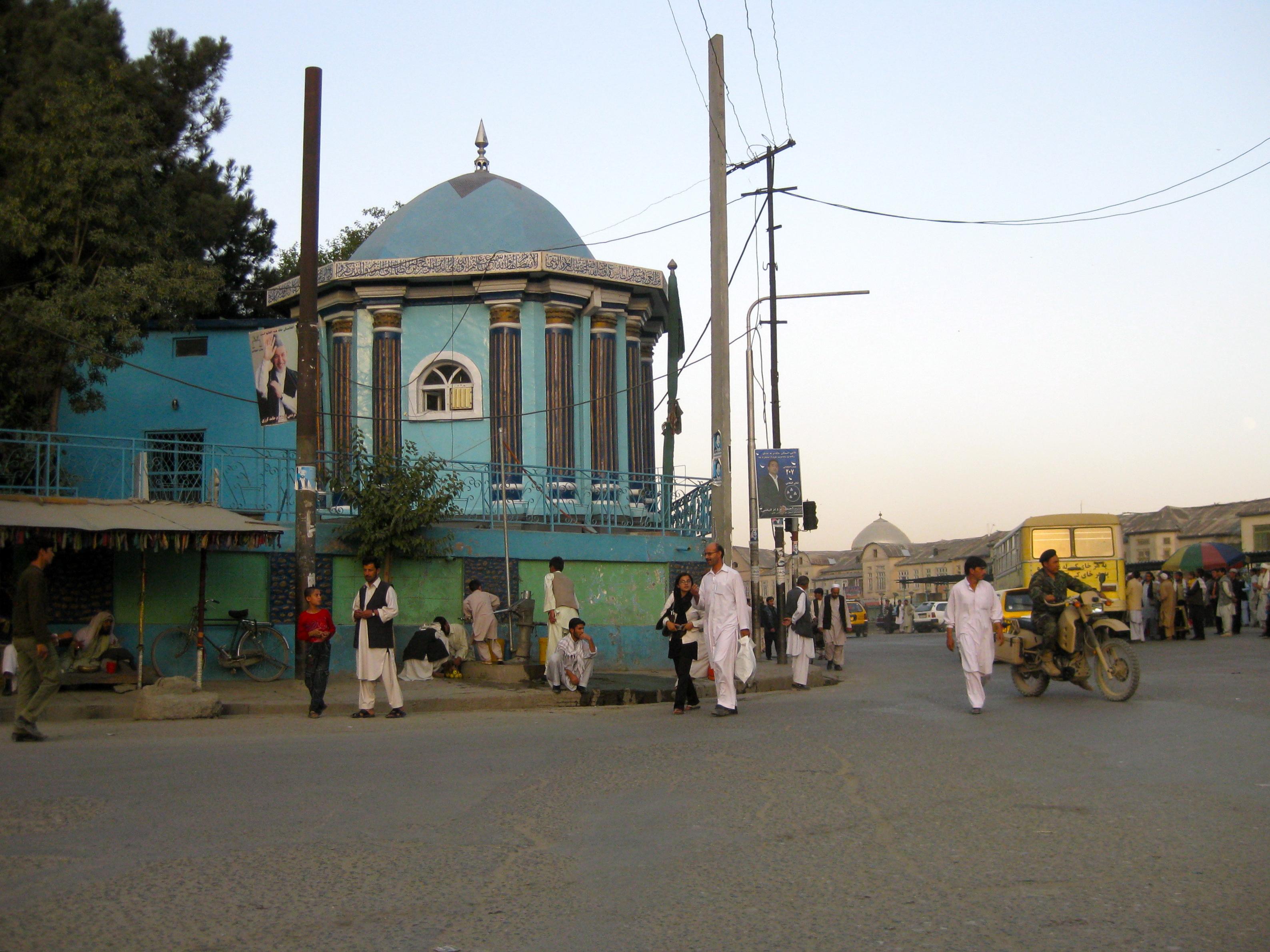 Blue masjid