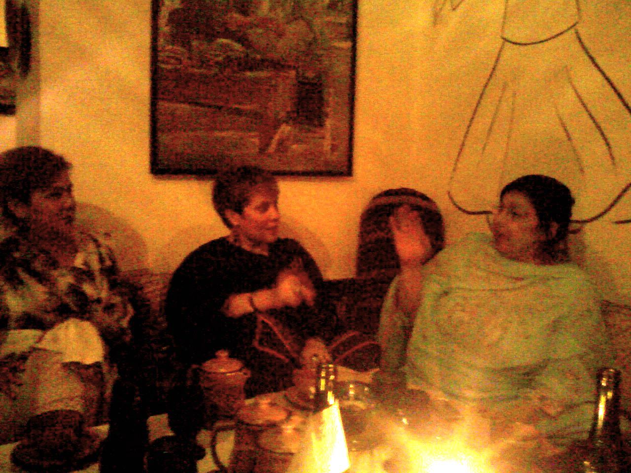 Dinner at Sufi's
