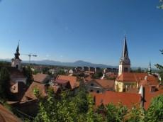 Lubiana - castle sightseeing