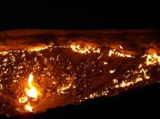 21 - Darvaza - Gas crater (hell's door)