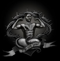Diego Corrales Tribute T-shirt Design