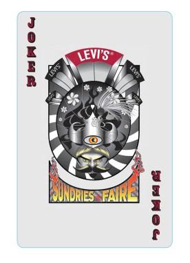 Joker Card for Levi's Sundries Show
