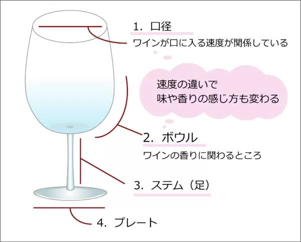 形の意味 ワイングラス