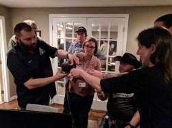 AABG members sharing their Copper Malt brewola beer