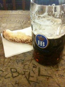 Dunkel at Hofbrau House
