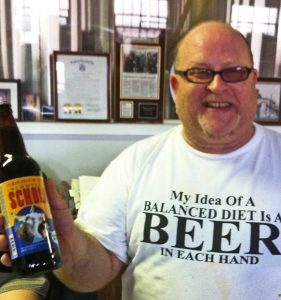 """Dave and his great version of Belgian Sour - for Jackasses like me"""""""