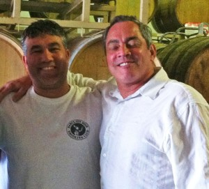 Greg and Gabriel - Proud owners of the growing OBC