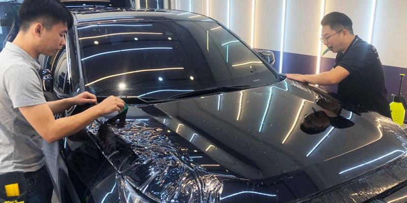 【高雄車體包膜】星城車體包膜|高雄Xpel汽車包膜首選|自體修復犀牛皮|Toyota RAV4車體包膜|原廠十年保固、不泛黃、不翹邊